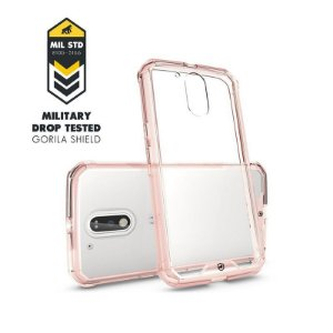 Capa Ultra Slim Air Rosa para MOTO G4/G4 PLUS - GORILA SHIELD