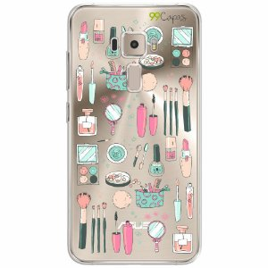 Capa para Asus Zenfone 3 - 5.5 Polegadas - Make Up