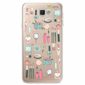 Capa para Galaxy J7 Prime - Make Up