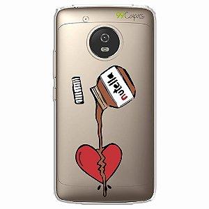 Capa para Moto G5 - Nutella