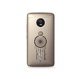 Capa para Moto G5 - Continue Sonhando