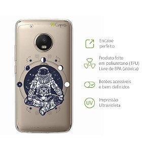 Capa Moto G5 Plus - Astronauta