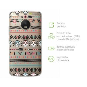 Capa Moto G5 Plus - Tribal