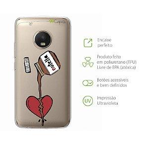 Capa Moto G5 Plus - Nutella