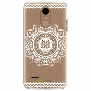 Capa para LG K8 2017 - Mandala Branca