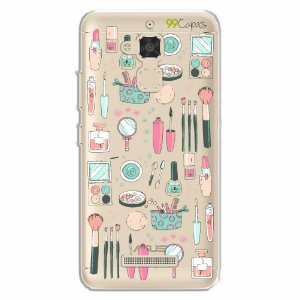 Capa para Asus Zenfone 3 Max - 5.2 Polegadas - Make Up