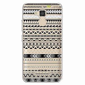Capa para Asus Zenfone 3 Max- 5.2 Polegadas - Maori Branca