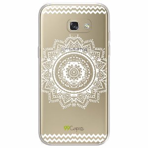 Capa para Samsung Galaxy A5 2017 - Mandala Branca