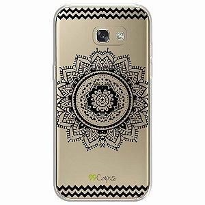 Capa para Samsung Galaxy A5 2017 - Mandala Preta