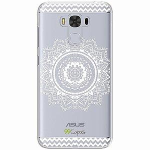 Capa para Asus Zenfone 3 Max 5.5 - Mandala Branca