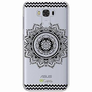 Capa para Asus Zenfone 3 Max 5.5 - Mandala Preta