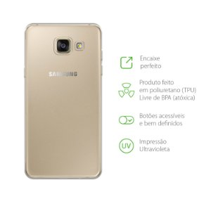 Capa Transparente para Galaxy A7 2017