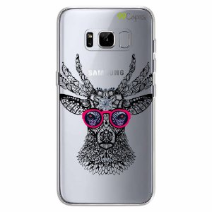 Capa para Galaxy S8 - Alce Hipster