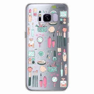 Capa para Galaxy S8 Plus - Make Up