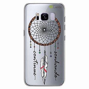 Capa para Galaxy S8 Plus - Filtro dos Sonhos