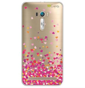 Capa para Asus Zenfone Selfie - Corações Rosa