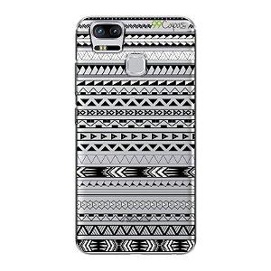 Capa para Asus Zenfone 3 Zoom - Maori Branca
