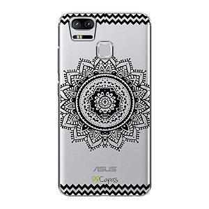 Capa para Asus Zenfone 3 Zoom - Mandala Preta
