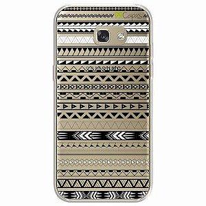Capa para Samsung Galaxy A7 2017 - Maori Branca