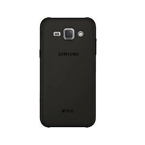 Capa Fumê para Samsung Galaxy J1 Ace {Semi-transparente}