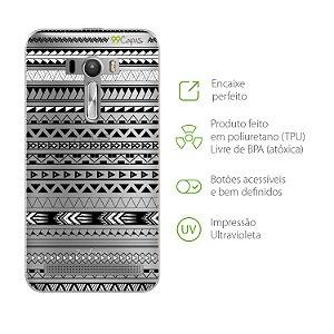 Capa para Asus Zenfone Selfie - Maori Branca