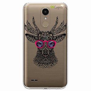 Capa para LG K10 Pro - Alce Hipster
