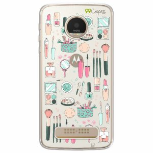 Capa para Moto Z2 Play - Make Up