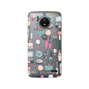 Capa Moto E4 - Make Up