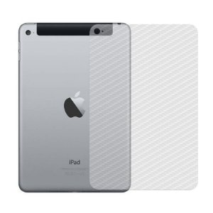 Película de Fibra de Carbono Traseira Transparente para - Apple iPad Mini 4 - 99capas