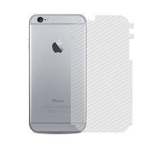 Película Traseira de Fibra de Carbono Transparente para Apple IPhone 6 e 6s - 99capas