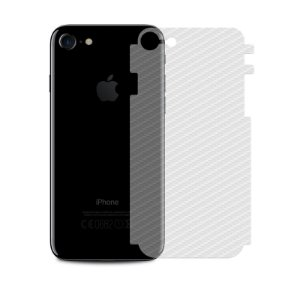 Película Traseira de Fibra de Carbono Transparente para iPhone 7 - 99capas