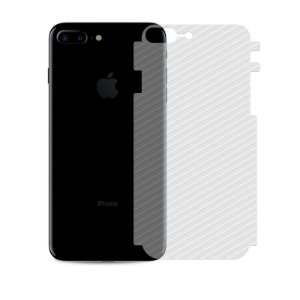 Película Traseira de Fibra de Carbono Transparente para Apple IPhone 7 Plus - 99capas
