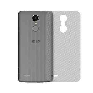 Película Traseira de Fibra de Carbono Transparente para LG K4 2017 - 99capas