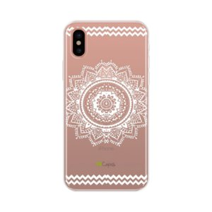 Capa para Apple iPhone X - Mandala Branca