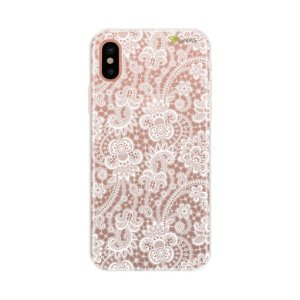 Capa para Apple iPhone X - Rendada