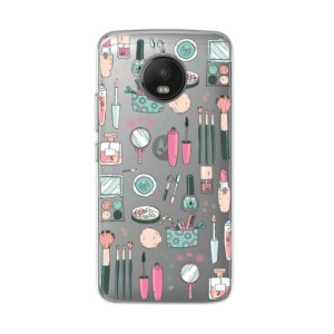 Capa para Moto G5S - Make Up