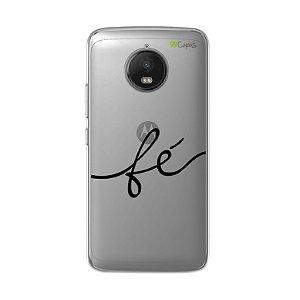 Capa para Moto G5S - Fé