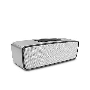 Caixa de Som Speakers Prata