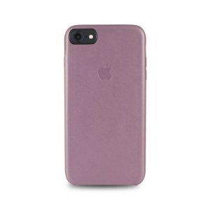 Capa Couro Rosa Apple iPhone 8
