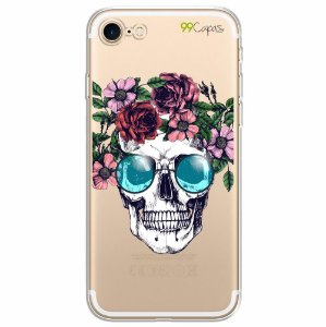 Capa para Apple Iphone 8 - Caveira