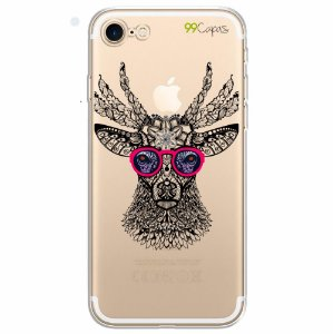 Capa para iPhone 8 Plus - Alce Hipster