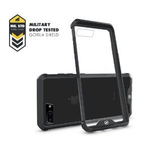 Capa Ultra Slim Preta para iPhone 8 Plus - Gorila Shield