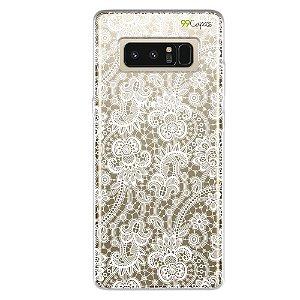 Capa para Galaxy Note 8 - Rendada