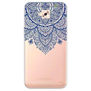 Capa para Zenfone 4 Selfie ZD553KL - Mandala Azul