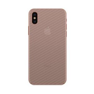 Película Traseira de Fibra de Carbono Transparente para Apple IPhone X - 99capas