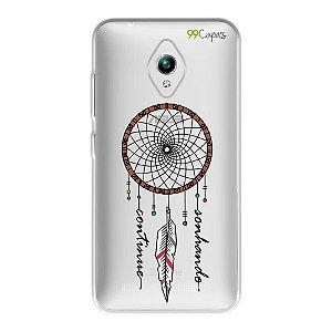 Capa para Zenfone GO ZC500TG - Continue Sonhando