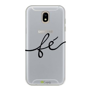Capa para Galaxy J5 Pro - Fé