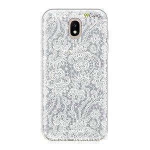 Capa para Galaxy J5 Pro - Rendada