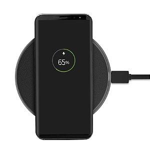 Carregador Wireless Sem Fio - Preto