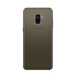 Capa Fumê para Samsung Galaxy A8 {Semi-transparente}
